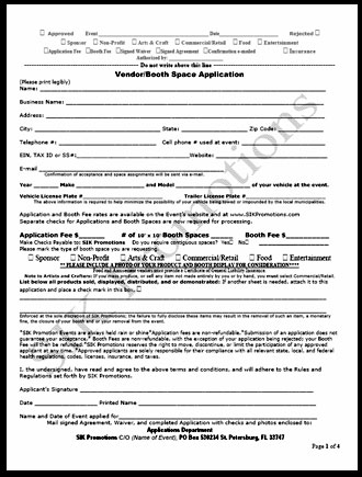 Food Vendor Application
