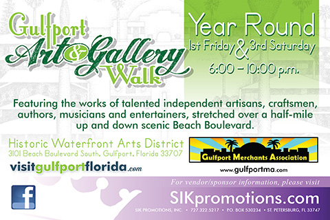 Gulfport Art & Gallery Walk