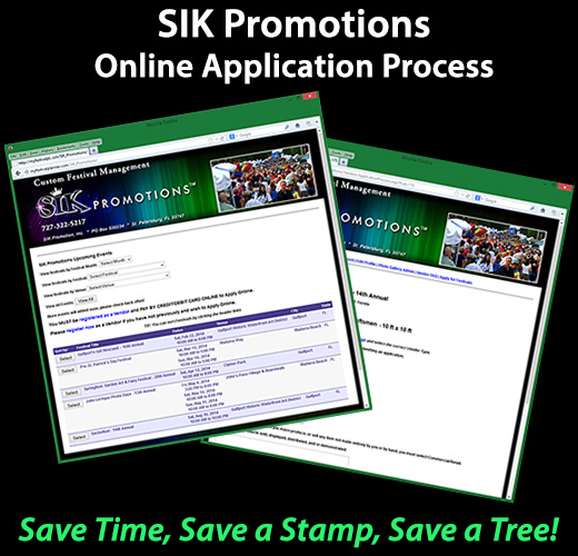 SIK Promotions Online Application Process